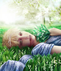 Lilly of the valley by Magdalena Saramak