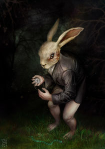 After the white rabbit...! von Magdalena Saramak