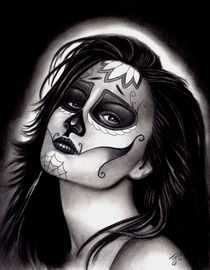 Day of the Dead girl by Todo Brennan