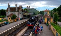 Corfe Castle Station von Rob Hawkins