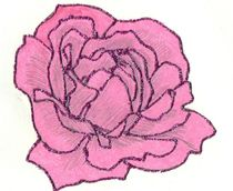 Glitter Rose by jeanbird 2