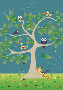 Baum der Vögel by Verena Münstermann