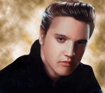 Elvis Presley by david tercias
