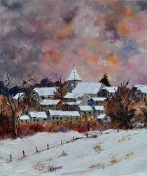 Winter in Awagne  by pol ledent