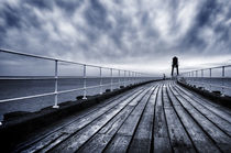 Whitby, West Pier by Martin Williams