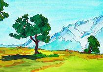 Karwendel Mountains von michaba
