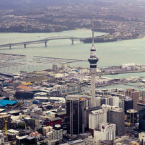 Auckland Downtown by Stas Kulesh