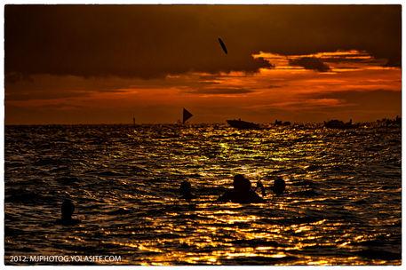 Bora-frisbee-evening