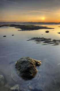 Calm Sea, Cayton Bay. by Martin Williams