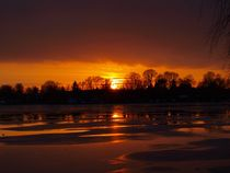 Sunset On Ice von Henry Selchow