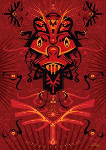 AngryRed - Shaman mask von Ken  Rinkel