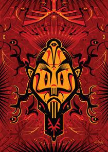 Shaman Mask - Antler von Ken  Rinkel