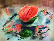 Watermelon by Inna Vinchenko