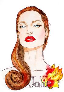 Angelina Jolie by Inna Vinchenko