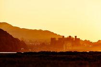 Castle Sunset von David Hunter