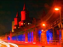 Festival Of Lights: Oberbaumbrücke I by Henry Selchow