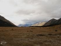 Mountain Panorama, Fjordland / Bergpanorama, Fjordland von starsongstudio