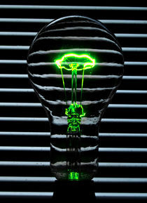 Green Bulb by Rob Hawkins