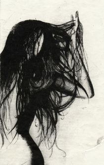 Girl Etching 5 by freeminds