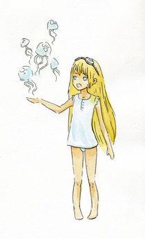 Jellyfish Girl von freeminds