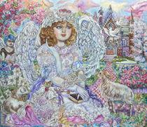Yumi Sugai.An angel of the Bible. by Yumi  Sugai