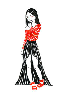Girl in Dress von freeminds