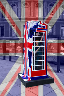 Royal telephone box Prince Harry by David J French