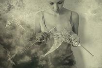 knitted birds by Zuzana  Smolkova