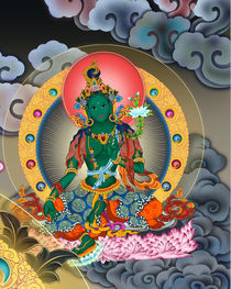 green tara by jason zhang