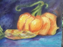 Pumpkin & Corn. von Monika wisberger