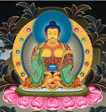 Amitabha by jason zhang