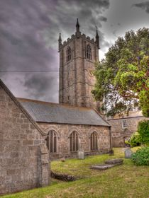 St. Ives Church & Graveyard by Allan Briggs