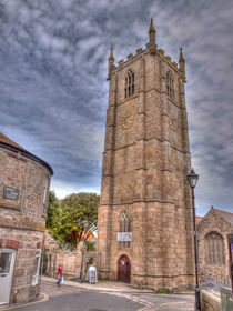 St. Ives Parish Church by Allan Briggs