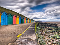 Beach Huts by Allan Briggs