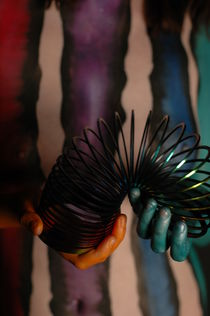 Slinky Body Painting by RoByn Thompson