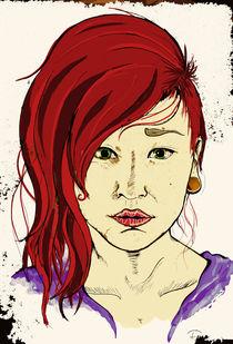 Redhead by Freja Rassmuson