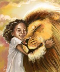 Lion's Kiss by Tamer & Cindy El-Sharouni