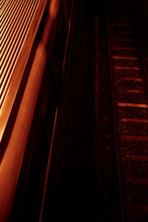 Red Rail by Lars Hallstrom
