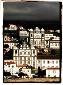 Typical architecture - Horta, Failal, The Azores by Brian Grady