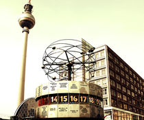 World Clock TV tower in Berlin von Falko Follert