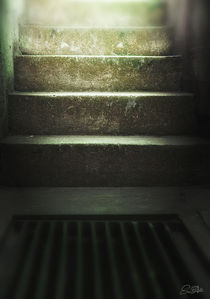 concrete stairway by Szantai Istvan