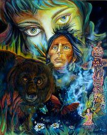 die Seele des Bären von Lydia  Knauf