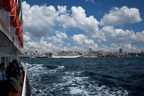?stanbul Vapurlar? 2 (Transporting Ships in Istanbul,Turkey) by Engin Sezer