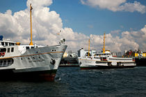 ?stanbul Vapurlar? 1 (Transporting Ships in Istanbul,Turkey) by Engin Sezer