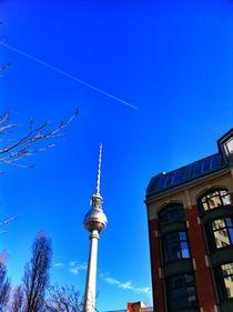 fernsehturm berlin by Rosemarie Rosenroth