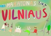 Vilnius marathon by Milda Karpaviciute