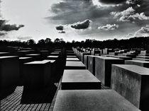 holocaust-mahnmal berlin by Rosemarie Rosenroth