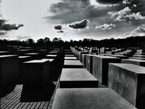 holocaust-mahnmal berlin von Rosemarie Rosenroth