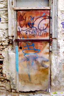 One door at Plaka/Athens von Pia Schneider