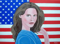 AMERICAN HEROES :LANA DEL REY by Eamon Reilly